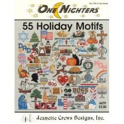 Fiche 55 Holiday Motifs