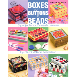 Livre Boxes with buttons & beads