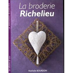 Livre La broderie Richelieu