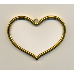Cadre doré coeur