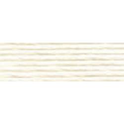 perlé No 8 : Blanc