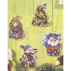 Kit Noël sur plastic canevas