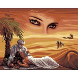 Canevas imprimé La princesse du désert