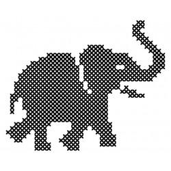 Linge imprimé L\'éléphant