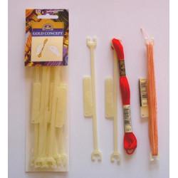 Archets en plastique pour fils
