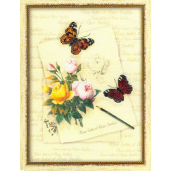 Kit Butterflies and roses