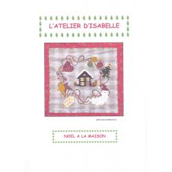 Kit feutrine Noël à la maison