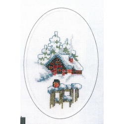 Carte Paysage hivernal