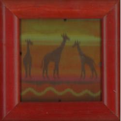 Canevas imprimé Girafes