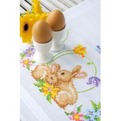 Kit chemin de table Petits lapins