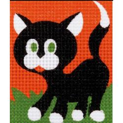 Kit tapisserie Une petite chate