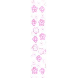 Biais Fleurettes rose
