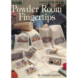 Fiche Powder room fingertips