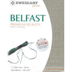 Precut Belfast irisé