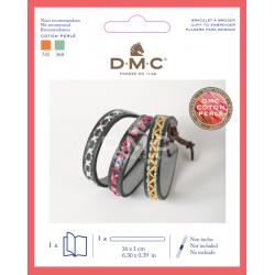 Bracelet faux cuir