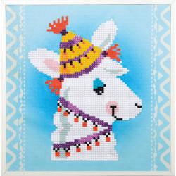 Kit Diamond painting kit Lama