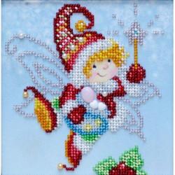 Kit broderie perles Joyeuses fêtes