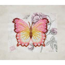 Kit broderie perles Papillon
