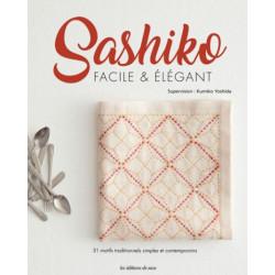 Livre Sashiko facile & Elégant
